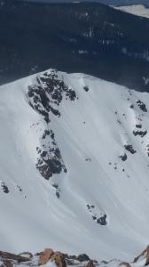 Matt's nice double Uneva peak
